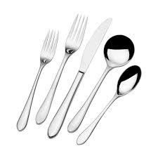 Towle living Forged Brynley 45 Piece Flatware Set  Service for 8
