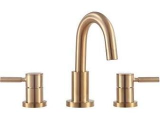 Brushed Gold 2 handle Bathroom Sink Faucet