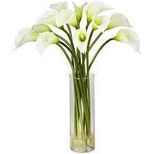 Silk 20 inch Mini Calla lily Flower Arra