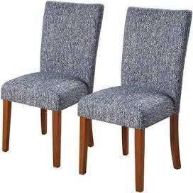 HomePop Classic Parsons Dining Chair Set of 2