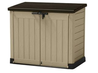 Store It Out MAX Horizontal Storage Shed   Beige And Brown   Keter