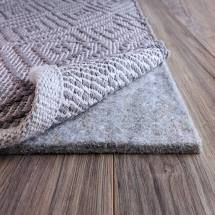 FiberSoft Extra Thick 100 percent Felt Rug Pad for All Floors   Grey  Retail 96 99