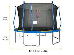 Bounce Pro 12 Foot Trampoline Box 2 Of 2 Only Model Tr 126sfes wmc