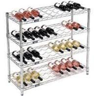 Silver  TRINITY EcoStorageIJ Wine Rack