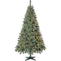 6 5 Ft Artificial Christmas Tree With Mini Clear lights Home Decor Prelit lights