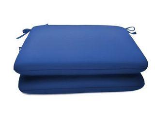 20 x 18 in  Sunbrella Seat Pad 2 Pack   20 W x 18 D x 2 5 H