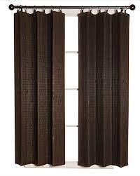 Bamboo Curtain  Panel Espresso 40a x 84a   4 PCS