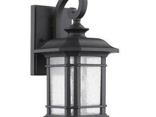 Transitonal 1 light Black Outdoor Wall light Fixture Retail 93 63