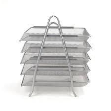 Silver Paper Tray with Removable Trays