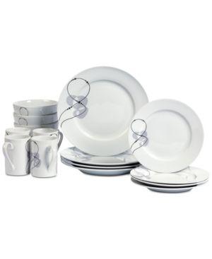 16pc Dinnerware Set   Jacqueline  Multi