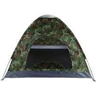 3 4 Person Camping Dome Tent Camouflage