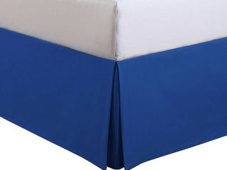 Full Size lux Hotel Kids Microfiber Bed Skirt by levinsohn Textile