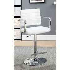 Furniture of America Fito Contemporary leatherette Padded Bar Stool   Retail 147 99