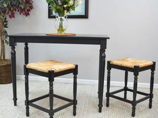 Counter Height   23 28 in    Single   Black Retail 93 49