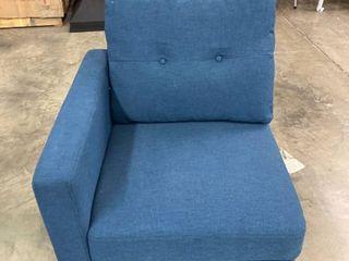Blue Corner Chair