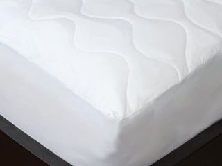 Maison Condelle Studio 707 New Soft Feel Quilted Mattress Pad White  King