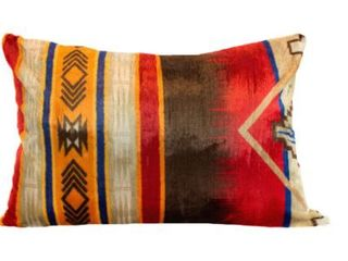 Oversized Southwestern Print Reversible Pillow 28x38 inch