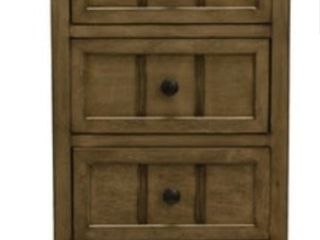 Copper Grove Hoxie Three Drawer Accent Table  Retail 166 49