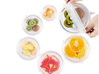 Silicone lids  Set of 6
