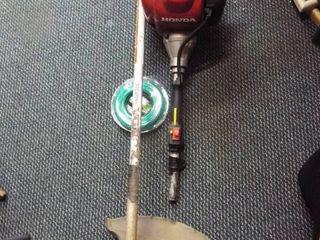 Honda weed eater  handle broke