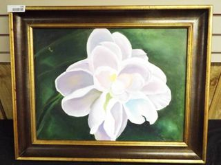 N  Tush magnolia canvas