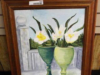 N  Tush lilies canvas