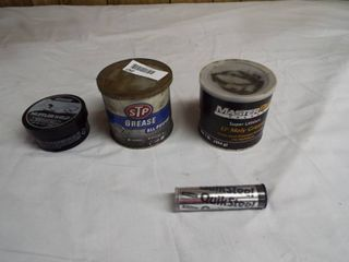 lot of various grease