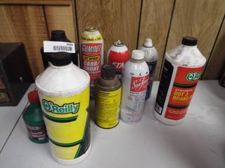 lot of automotive lubes