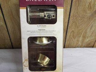 New Baldwin deadbolt