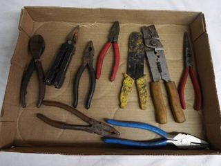 lot of wire cutters