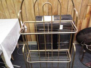 Metal shelf  12  D x 24  W x 58  T