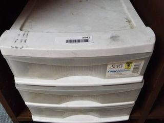 3 Drawer standard organizer