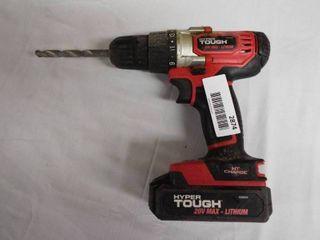 Hyper Tough 20V max cordless drill