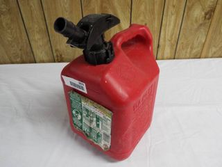 Enviro flo spill  proof 2 gallon gas can