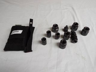 lot with Husky sockets and small bag for sockets