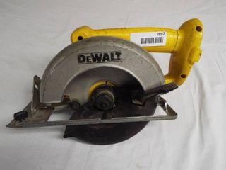 DeWalt 6 1 2  cordless circular saw