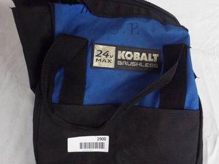 Kobalt brushless tool bag