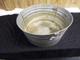 Wash tub  24 1 2  round x 11  T