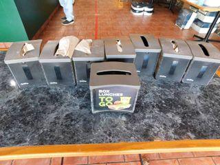 lot Of 8 Easy Nap Napkin Dispensers