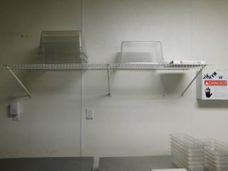 Wire Wall Mount Shelf