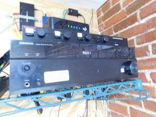Insignia Stereo Reciever and Mixer
