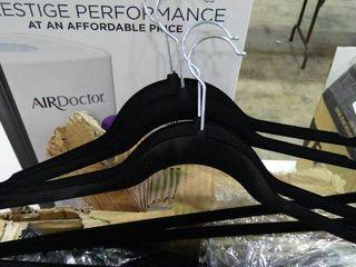lot of Black Velvet Hangers