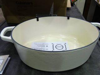 Cuisinart 7 Qt Enameled Cast Iron Casserole Dish