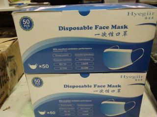 lot of Disposable Face Masks