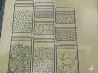 lot of Kitsure Food Storage Containers