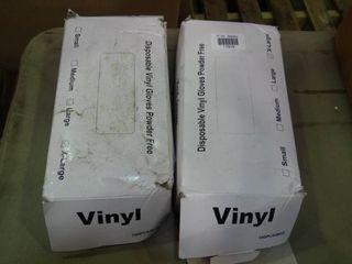 lot of Xl Vinyl Gloves