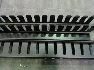 Metal Rack Mount Horizontal Cable Manager Duct