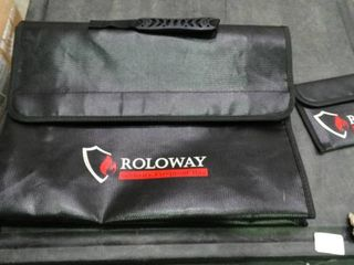 Roloway Security Fireproof Bag