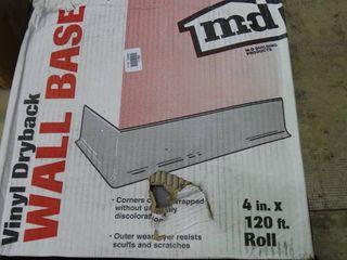 Roll of Vinyl Dryback Wall Base