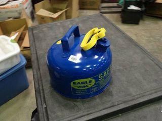 Eagle 2 Gallon Blue Safety Can